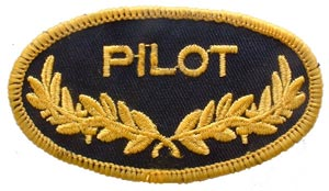 Patch-USN Oval Pilot