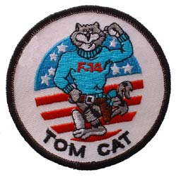 Patch-USN Tomcat F-14