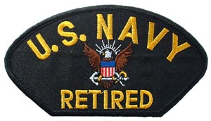 Patch-USN Logo Retired For Cap
