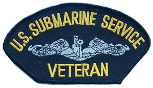 Patch-USN Sub Serv Vet For Cap