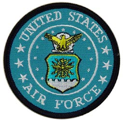 Patch-USAF Logo II Blue