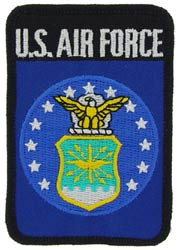 Patch-USAF Logo Rectangle