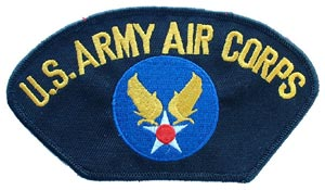 Patch-USAF Army Aircorp For Cap