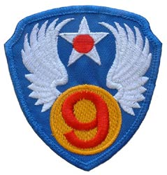 Patch-USAF 9TH