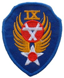 Patch-USAF 9TH Engineer