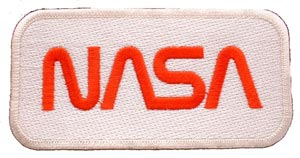 Patch-NASA Red