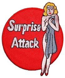 Patch-Surprise Attack Nose Art