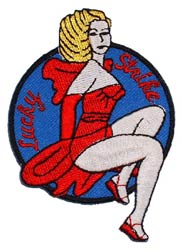 Patch-Lucky Strike Nose Art