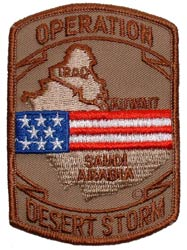Patch-Operation Desert Storm Kuwait Saudi Arabia