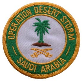 Patch-Operation Desert Storm Saudi Arabia