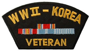 WWII - Korea Veteran For Cap