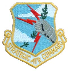 USAF Strategic Air Command Shield