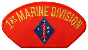 USMC 1st Division For Cap