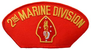 USMC 2nd Division For Cap