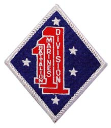 USMC 1st Battallion Patch
