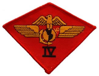 USMC 4th Airwing Patch