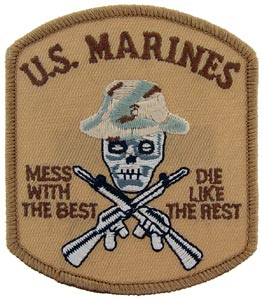 USMC Mess With The Best Desert