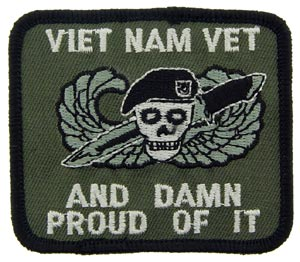 Vietnam Damn Proud Patch