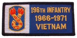 Vietnam BDG 196th Infantry