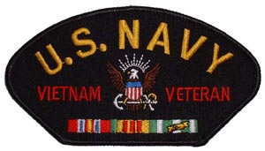 Vietnam USN Veteran For Cap