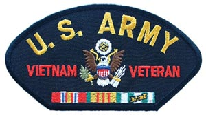 Vietnam Army Veteran For Cap