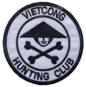 Viet Cong Hunting Club With Crossbones