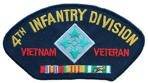 Vietnam 4th Infantry For Cap