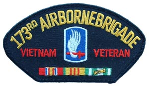 Vietnam 173rd Airborne For Cap