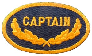 Captain Patch Oval