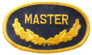 Master Oval Patch