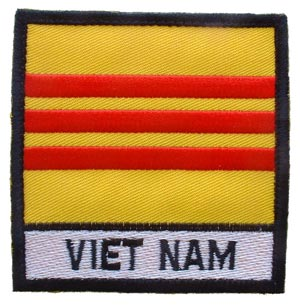 Vietnam Flag With Tab