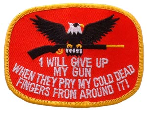 I ll Give Up Gun Patch