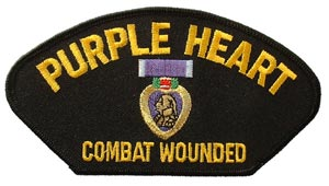 Purple Heart Patch For Cap