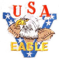 Eagle Victory USA Patch
