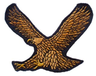 Brown Eagle Patch