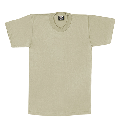 Desert Sand Military T-shirt To wear with ACUs