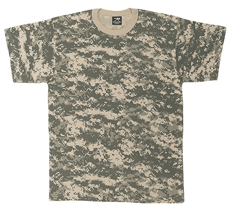 Adult Army Digital Camo T-shirt