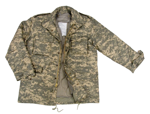 Army Digital Camo M-65 Field Jacket