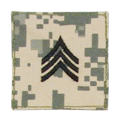ACU Digital Rank-Sergeant