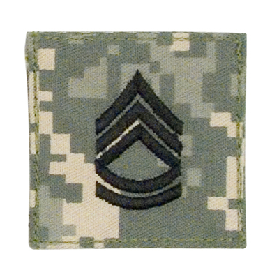 ACU Digital Rank- Sergeant 1STClass