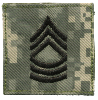 ACU Digital Rank- Master Sergeant