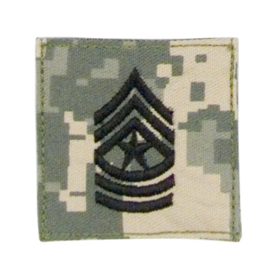 ACU Digital Rank-Sergeant Major