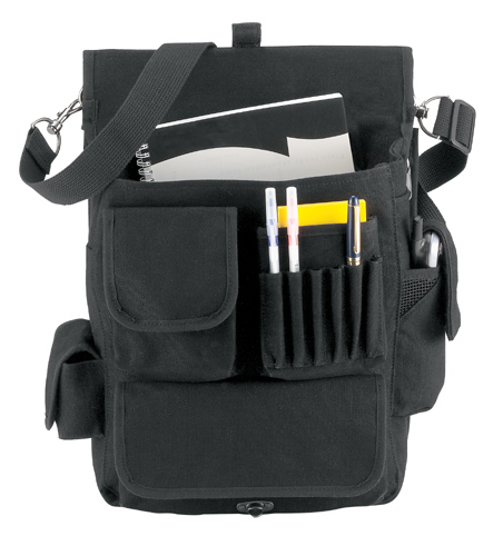 M-51 Engineers Bag-Black-Ultimate Carry Bag for work/travel