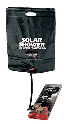 Small Solar Shower Ideal for outdoor activities