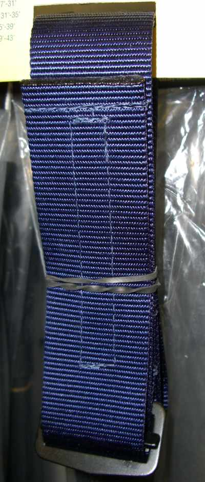 Military Rigger Belt-Blue