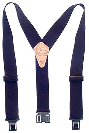 2 Inch Navy Perry Suspenders