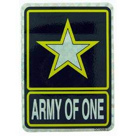 Army Of 1 Decal