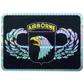 Army 101st Airborne Rectangle Decal