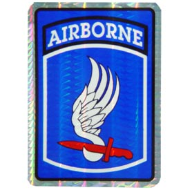 Army 173rd Airborne Decal