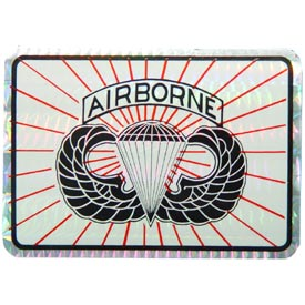 Army Para Airborne Decal